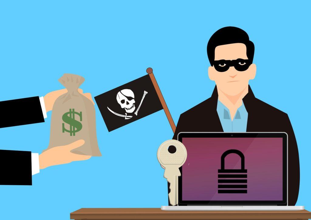 Enviar ransomware